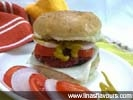 Beetroot-Sprouts Patty Burger