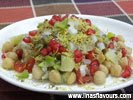 Aloo Chana Chaat (Potato Chickpeas Chaat)