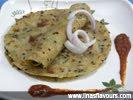 Cheese Sesame Paratha