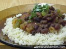 Couscous with beans